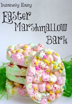 Good Ideas For You | Easter Marshmallow Bark