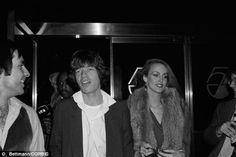 Studio 54.  Mick Jagger and Jerry Hall