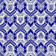 blue gothic ornate design ~ gumbogirl