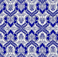 blue gothic ornate design ~gumbogirl