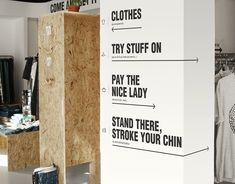Cheap Monday Pop Up Store on Behance Right attitude for us