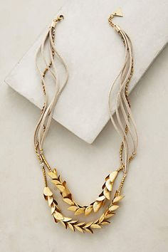 Olea Necklace - anthropologie.com