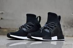 b05b792d4 Cheap Adidas Originals NMD High Unisex shoes Black White WhatsApp  8613328373859