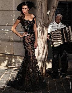 WOAH....Rami Salamoun rocks!!!  Would love to wear this...Stunning!!
