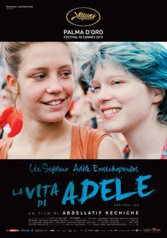 La vita di Adele: trailer trama e recensione del film Palma d'oro a Cannes Lorraine Warren, Men In Black, Streaming Hd, Streaming Movies, Top Movies, Movies And Tv Shows, Movies Free, Poster, Fotografia