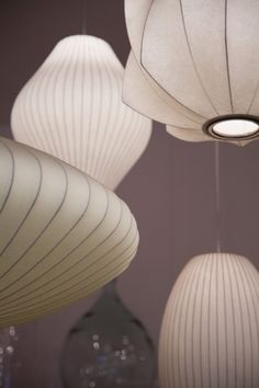 Bensimon Home autour du monde | George Nelson Bubble Lamps | http://modernica.net/lighting/pendant/