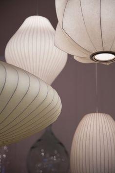 Bensimon Home autour du monde | George Nelson Bubble Lamps | http://modernica.net/lighting/pendant/