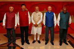 BRICS leaders Goa 2016