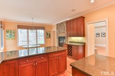 Love Kitchens? You'll love this one in 19023 Stone Brook! #GovernorsClubRealty #GovernorsClub #ChapelHillRealEstate