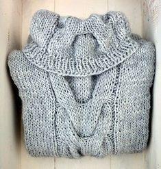 76cc144f6c92 Women s Cable Cowl Sweater - Knitting Pattern via Makerist.com   knittingwithmakerist  knittingpattern  knitting  womensfashion  cozysweater