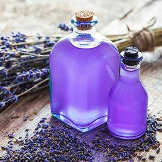 Duschgel selber machen - Duschgel Rezept für Lavendel Duschgel