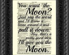 Lasso the Moon, It's a Wonderful Life Quote Printed On An Upcycled 1897 Dictionary Page Art Print Christmas Wall Decor Valentine Wonderful Life Quotes, Its A Wonderful Life, Lasso The Moon, Pretty Good, Gallery Wall, Wall Decor, Art Prints, Sayings, Words