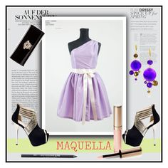 """""""MAQUELLA 2"""" by miranda-993 ❤ liked on Polyvore featuring Versace, By Terry and Urban Decay"""