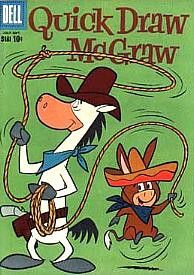 Cover for Quick Draw McGraw (Dell, 1960 series) Saturday morning cartoons! Cartoon Cartoon, Cartoon Photo, Vintage Comic Books, Vintage Cartoon, Vintage Comics, Old School Cartoons, Old Cartoons, Saturday Morning Cartoons 80s, Classic Comics