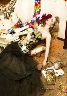 A GLAMOROUS GOODBYE after party mario photographie ardi sleeping beauty the untold stories 5