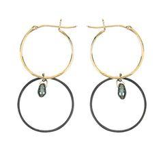 Inez & Vinoodh boucles d'oreilles anneaux