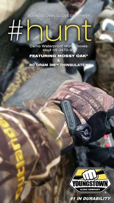 Youngstown Camo Waterproof Winter Plus Work Glove | #WorkGloves #SafetyGloves FullSource.com