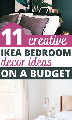 These bedroom decorating ideas on a small budget are GENIUS! Transform the look of your room with IKEA hacks for bedroom. Cheap home decor has never been easier! Ikea Bedroom Furniture, Diy Furniture Hacks, Home Decor Hacks, Cheap Home Decor, Diy Home Decor, Ikea Hack Storage, Ikea Hacks, Ikea Bed Frames, Ikea Decor
