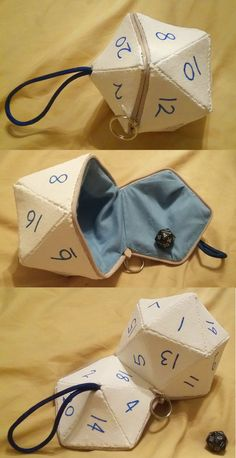 Eliott's D20 Dice Bag by angermuffin