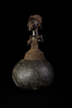 Calabash REGIONCongo PERIOD1940 circa ETHNIC GROUPLuba HEIGHT30 cm