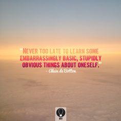 Alain De Botton Quote