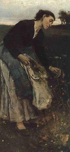 Jakub Schikaneder - Herbalist (1882). #painting #Czechia #art