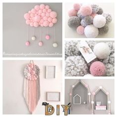 """diy_crafts- """" The face recognition system finds a barn owl…\"""""""", """"Yarn pom-poms the easiest way ever diy tutorial."""", """"Likes, 42 Comments - Kids Crafts, Diy And Crafts, Craft Projects, Arts And Crafts, Kids Diy, Pom Pom Crafts, Yarn Crafts, Diy Y Manualidades, Diy Bebe"""