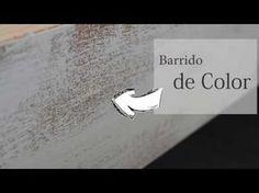 Decapar Madera, Muebles Vintage, DIY, Hazlo tu mismo, como decapar mueble, decapado - YouTube