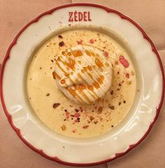 #latergram from last week at @brasseriezedel! 😍😜💙 Île flottante: the dish you must have whenever you visit #Zedel, one of our favourite…