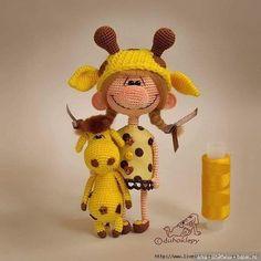 Кукла с большим носом. Схема вязания игрушки Условные обозначения: сбн — столбик без накида прибавка — из одной петли вывязать