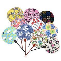 Japanese cotton fans, Uchiwa