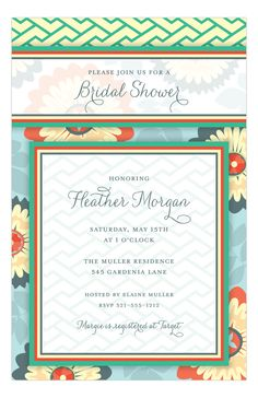 http://www.polkadotdesign.com/paper-so-pretty-digital-designs/PSPDD-NP58WS1173PSPDD?utm_content=bufferc0d25&utm_medium=social&utm_source=pinterest.com&utm_campaign=buffer Garden Blooms Invitation from Picture Perfect at Polka Dot Design