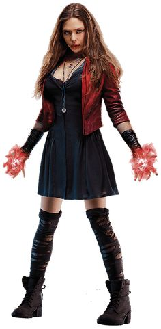 Scarlet Witch by cptcommunist.deviantart.com on @DeviantArt