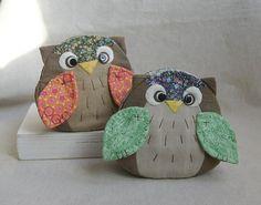 Little owl coin purses tutorial