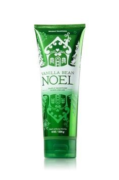 Bath & Body Works Holiday Traditions Vanilla Bean Noel Triple Moisture Body Cream, 8 OZ, 2011 season by Bath & Body Works, http://www.amazon.com/dp/B005UIQIGW/ref=cm_sw_r_pi_dp_p-lhqb1GGSSZ0
