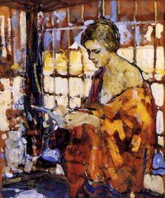 Reading and Art: Richard Edward Miller