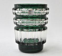 Flower Vases, Flower Arrangements, Joseph, Flower Frog, Emerald Green, Belgium, Egyptian, Glass Art, Kitchens