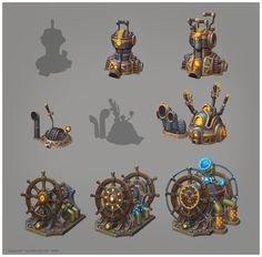 Ship Devices Tiers - e-danilov @ deviantART