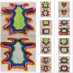 Jen Stark by Grade Middle School Art Projects, High School Art, Sisters Art, Soul Sisters, Jen Stark, Art Room Doors, Art History Timeline, 8th Grade Art, Elements Of Art