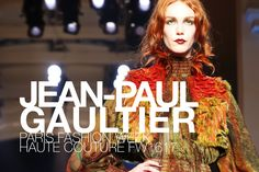 #pfw #mode #fashion #ParisFashionWeek #HauteCouture #FW1617: Jean-Paul #Gaultier