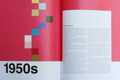 PANTONE: A Color History of the 20th Century  by Maria Popova  50s