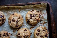 Desserts - K pour Katrine Cookie Desserts, Healthy Desserts, Easy Desserts, Cookie Recipes, Healthy Food, Dessert Simple, Biscuit Sans Gluten, Desserts Sains, Lactose Free