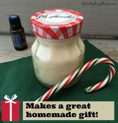 Peppermint Sugar Body Scrub is so refreshing on a cold winter day and the best Christmas present ever!