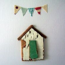 "One of Kirsty Elsons lovely Little Houses. I don't usually post much of her stuff as so many other people do. But this one just charmed me to the core. I really respect the way this lady makes these ""Little"" works of art. Truely lovely ;)"