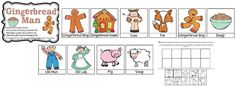 Gingerbread man story sequence cards- FREE