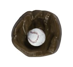 Chocolate Baseball Mitt and Foiled Ball. Available in milk, dark and white chocolate.