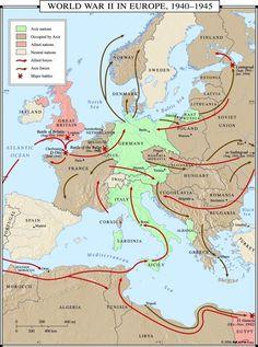 world war ii in europe wall map 910ure European History, World History, World War Ii, American History, World Map Europe, Belgium Germany, Teacher Created Resources, Classroom Walls, Wall Maps