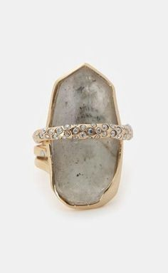 Alexis Bittar Fancy Labradorite Orbiting Ring