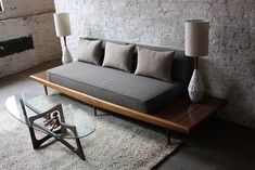 15 Wonderful Living Room Design With Simple Sofa Ideas – Sofa Design 2020 Diy Sofa, Sofa Design, Sofa Furniture, Furniture Design, Modern Furniture, Rustic Furniture, Furniture Ideas, Outdoor Furniture, Furniture Buyers