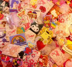 (★) I love kawaii stickers and I have a big collection! (★)  (^(エ)^) -order now and I will pick 30 sticker flakes for you-(^(エ)^)  ☛Each